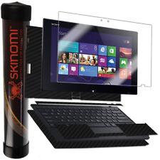 Skinomi Carbon Fiber Black Skin for Sony Vaio Tap 11 Keyboard+Tablet SVT11213CXB