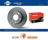 ROTINGER Front BRAKE DISCS + PADS for MERCEDES SPRINTER Bus 311 CDI 2016->on