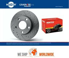 ROTINGER Front Vented BRAKE DISCS + PADS for VW GOLF VI Variant 1.4 2009-2013