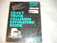 1997 Mitchell Heavy Duty Commercial Trucks Vehicles Collision Estimating Manual