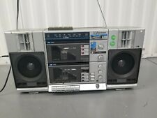 Vintage Emerson Ctr 949 Ghetto Boombox AM/FM Dual Cassette  Radio -TESTED...