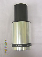 Vintage ICECO FL 6.5 inch (165mm) FL2.5 35mm Cine Projection Lens Used