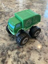 Blaze and the Monster Machines Reese Recycling Truck Die-Cast GREEN