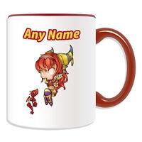 Personalised Gift Alexstrasza Mug Money Box Cup World Warcraft WOW Dragon Queen