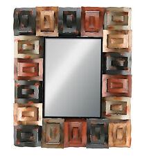 """Large Decorative Wall Mirror Metal Wall Art 34"""" x 41"""""""