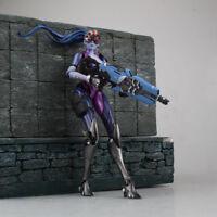 17CM Overwatch WIDOWMAKER Figure Amélie Lacroix PVC Game Model Toy Gift In Box
