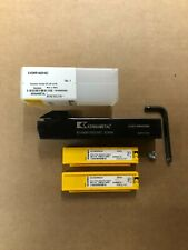 Kennametal Evolution Cut Off Amp Grooving Tool Holder With 20pcs Carbide Inserts