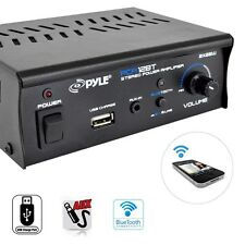 BLUETOOTH 2 CH 50W HOME THEATER SYSTEM STEREO SPEAKER AMP AMPLIFIER RECEIVER USB