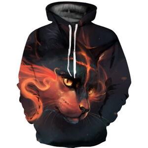 Men Women's Hoodie 3D Print Sweater Jacket Coat Pullover Graphic Tops Sweatshirt
