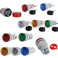 AC 0-100A 220V LED Digital Amp Tester Voltage Meter Signal Current Indicator