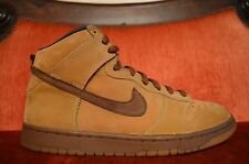 Nike SB Dunk High Pro Wheat Hi Maple Bison Size 9 2002 305050-221 8.5+/10