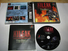 Kileak the Blood Playstation PS1 Japan import