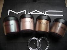 Mac cosmetics Pigment- Samples-Set , 4 Stück a 0,4 Gr. inkl. LE`s, WARM-SHADES