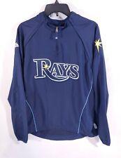 Majestic Tampa Bay Devil Rays Warm Up Jacket Medium