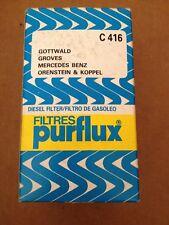 Purflux c416 Filtro de combustible diesel Oldtimer mercedes benz Dios bosque Groves