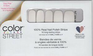 CS Nail Strips Swiss and Tell 100% Nail Polish - USA Made!