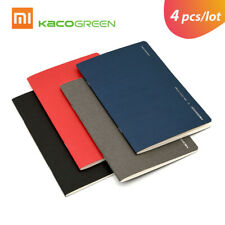 4pcs/lot Xiaomi Kaco Paper Notebook Diary Notepad Gift for Business Office X0S7