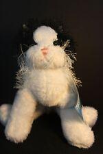 Webkinz - Ganz - Plush Black & White Cat - Tag Attached