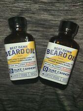 (2) Duke Cannon Redwood Beard Oil