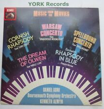 MUSIC FROM THE MOVIES - Bournemouth Symphony Orchestra - Ex Con LP Record HMV
