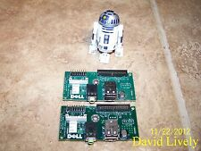 Lot of 2 Dell Dimension 8400 M5989 I/O USB Audio Panel Boards CN-0M5989 QT Avail