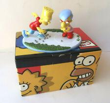 Statue porcelaine Bart jouant aux billes Simpsons China Collection Coalport 2005