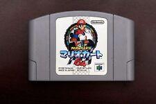 Nintendo 64 Mario Kart 64 Japan Import N64 game US Seller