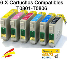 PACK 6 TINTA COMPATIBLE FOTO NON-OEM PARA USAR CON EPSON PX 660 PX700W PX720WD