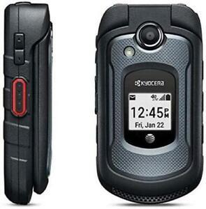 Kyocera DuraXE E4710 8 GB - Black (AT&T) Unlocked Flip Phone