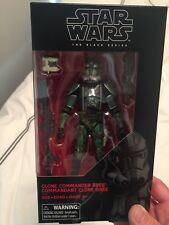 "SDCC 2017 TRU Exclusive Star Wars Black Series 6"" Commander Gree - SHIP IN HAND"