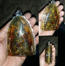 GUMAN THONG LP Yam Wat Sam Ngam Magic Amulet Talisman Thai buddha POWERFUL Wealt