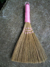 Besom mini broom Spell supplies Altar Pagan Wicca Witchcraft pink