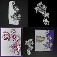 Flowers Metal Cutting Dies Scrapbooking Embossing Stencil DIY Craft Cards Making