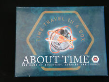 ABOUT TIME - TIME TRAVEL GAME - MINT CONDITION - AGE 14+ - FREE POST