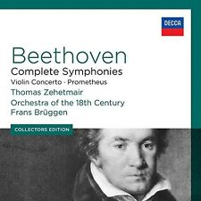 Bruggen / Zehetmair - Coll Ed: Beethoven Complete Symphonies / Violin [New CD]