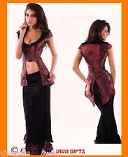 Gothic Vampire Mistress Costume Ladies sz 10 - Storybook Character
