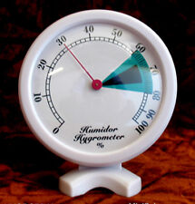 Hygrometer Humidor, Desk Stand and Wall Mount