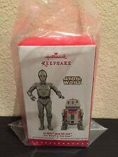 Hallmark Exclusive Ornaments Star Wars U-3PO & R5-D4 Droids Brand New RARE LE