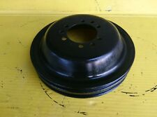 67 Pontiac GTO Firebird V8 2 Groove Crankshaft Pulley 350 400 455