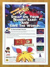 KEIO Flying Squadron Sega CD 1995 Print Ad/Poster Official Authentic Anime Art