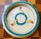 Antique Roseville Juvenile Children's Pottery Duck Baby Feeder Baby Dish Vintage