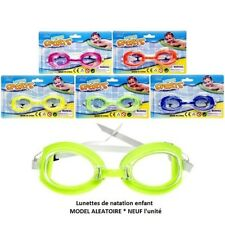 Lunettes de natation enfant Taille unique (3 ans+)* NEUF l'unité/Model aléatoire