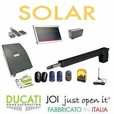DUCATI HC812-400 SOLAR KIT Apricancello SOLARE 1 anta battente Max 3,5m/350kg