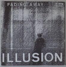 "ILLUSION Fading away RARE 7"" 1987 synthpop-new wave BELGIUM"
