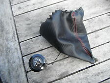 Vw Mk4 Golf O Bora Meatl modificados Gear knob+gaiter Gti V5 V6 Mk3? Cabriolet?