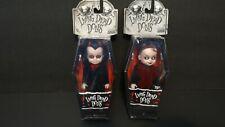 2 Living Dead Dolls Minis Lou Sapphire & Lizzie Borden Mezco