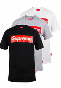 Supreme Spain Herren T-Shirt   Box Logoprint   STU 01