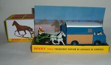 ATLAS/DINKY TOYS Nº 571, trasporto SAVIEM DE CHEVAUX DE CORSI, superbo Nuovo di zecca