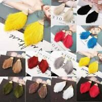 Multi-color Bohemian Long Tassel Earrings Boho Hook Drop Dangle Fringe Jewelry