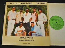 BLACK GOSPEL SOUL LP Bruce Parks And Power Foundation Redemption 1002